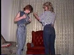 wet jeans
